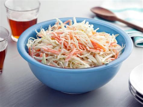 coleslaw recipes creamy cole slaw recipe bobby flay food network