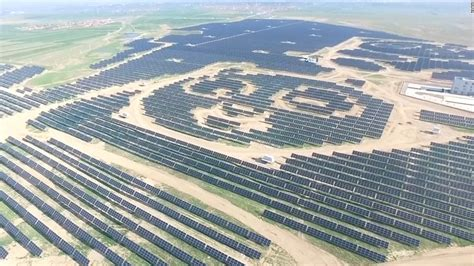 China's huge panda-shaped solar farm - Video - Technology