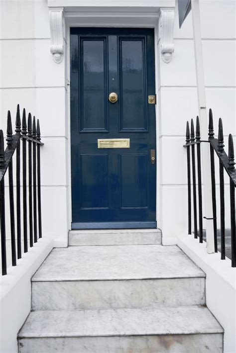 front door peephole 21 cool blue front doors for residential homes