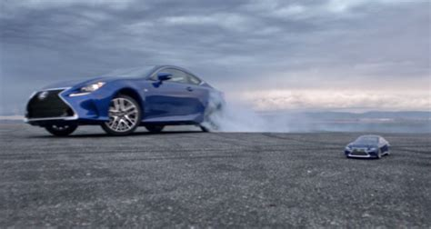 lexus commercial lexus practices precision drifting in new quot let s play