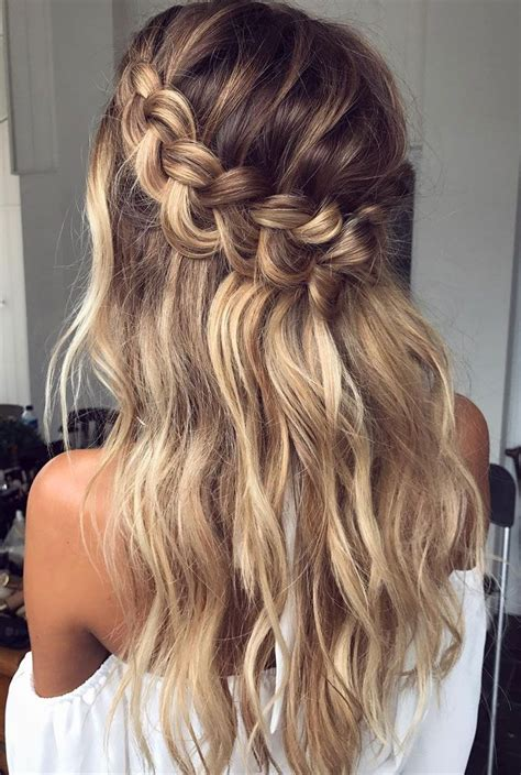 Wedding Hairstyles For Hair With Braids by Crown Braid Wedding Hairstyle Inspiration Bridal Hair