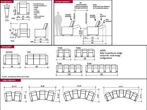 Home Design Dimensions by Typical Dimension For Home Theatre Seating Search