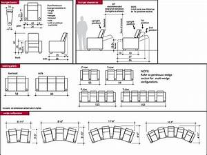 Typical Dimension For Home Theatre Seating