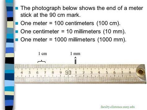 90mm to cm measuring matter ppt