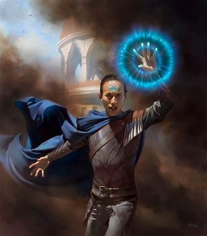 Wizard Token Wizards Mtg Winters Magic War