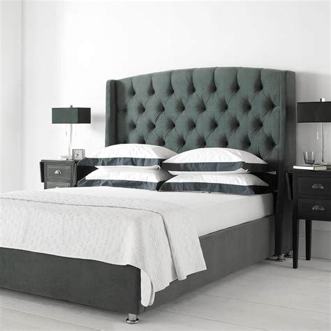 Ottoman Bed by Buckingham Wing Headboard Ottoman Bed Fabric Beds Fads