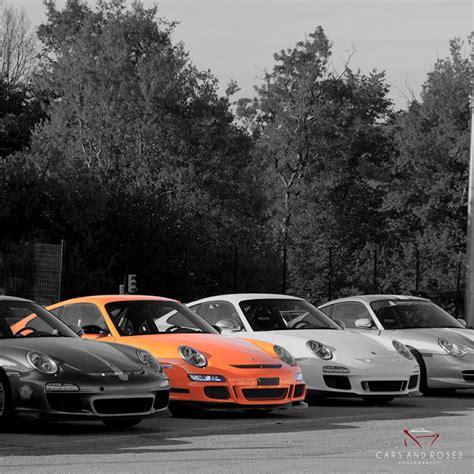 porsche family  prints cars  roses