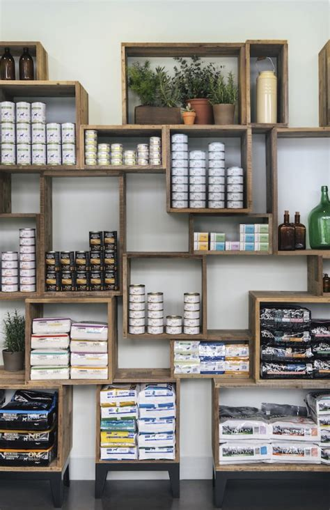 store shelving ideas  pinterest retail