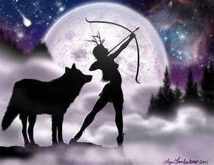 109 best Artemis goddes of wild hunt images on Pinterest ...