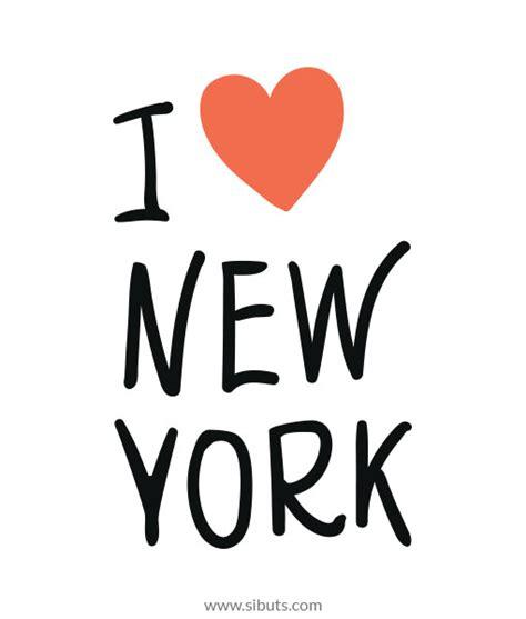 Vinilo Decorativo I Love New York  Sibuts Tienda Online