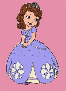 Sofia The First Coloring Pages For Kids Ft Princess Sofia
