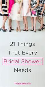 the 21 things every bridal shower absolutely needs With things to do at a wedding shower