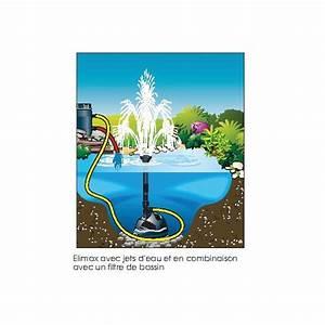 Pompe A Eau Jardin : pompe bassin de jardin elimax jets d 39 eau achat vente pas ~ Premium-room.com Idées de Décoration