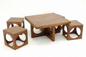 Table Basse En Bois : table salon pas cher ~ Teatrodelosmanantiales.com Idées de Décoration