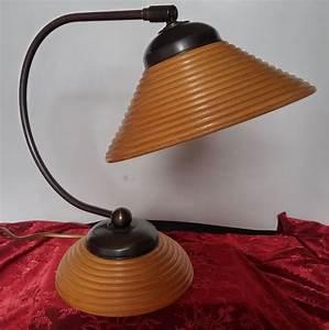 Retro Lampe Holz : vintage lampe mit ringen verziert mit holz niederlande 1960 catawiki ~ Indierocktalk.com Haus und Dekorationen