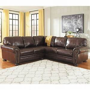 2pc raf sofa leather sectional 0h0 504rs 2pc ashley afw for Garrison 2 pc leather sectional sofa reviews