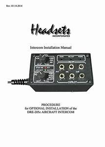 Aviation Manuals For Headsets  U0026 Helmets