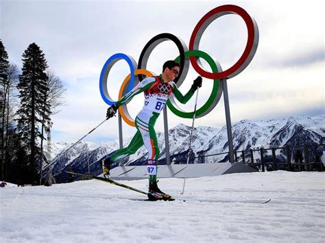 jan rossiter finishing km mens cross country ski race