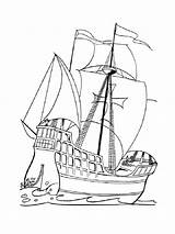 Pirate Ship Coloring Pages Boys Printable Recommended Sailing Colors Sea Mycoloring sketch template