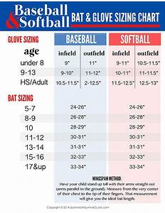 How To Choose The Right Size Baseball Softball Equipment