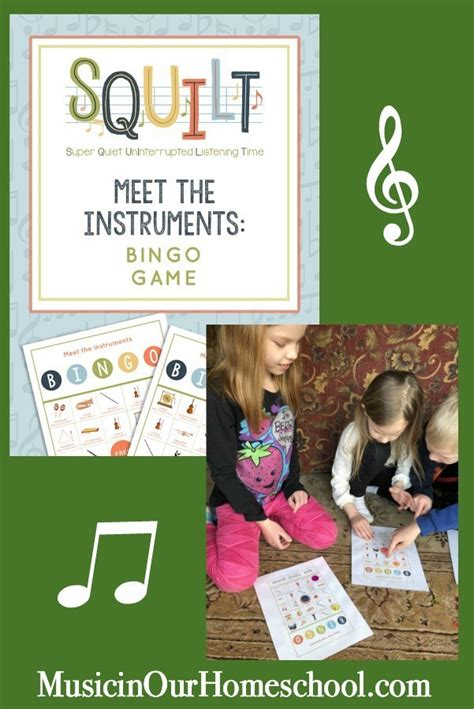 View instagram photos and videos for #bingo. Meet the Instruments Bingo from SQUILT - Music in Our Homeschool