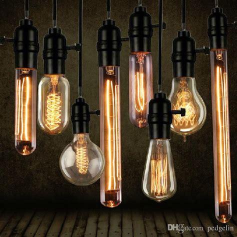 2017 wholesale vintage edison bulb clear glass light bulbs