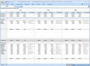 Monthly Budget Excel Spreadsheet Monthly Budget Planner Excel Budget Spreadsheet Personal Budgeting Software