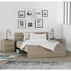 Chambre Complete Adulte : chambre a coucher complete adulte achat vente pas cher ~ Carolinahurricanesstore.com Idées de Décoration