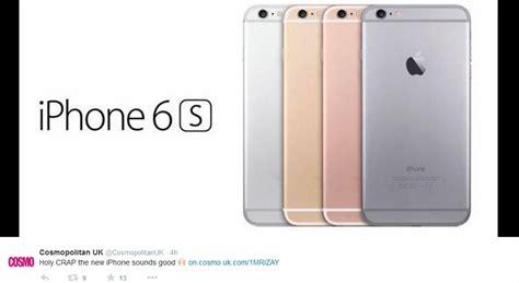 iphone 6s rumors iphone 6s rumors pre orders to start september 11