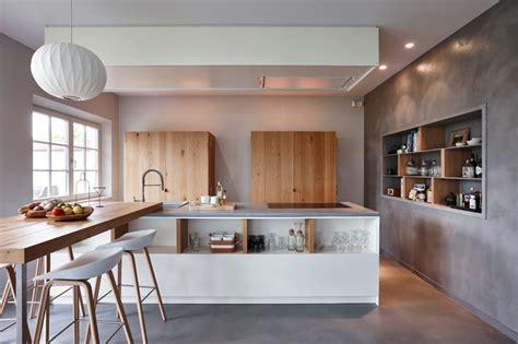 cuisine bois beton cuisines en béton ciré contemporain cuisine other