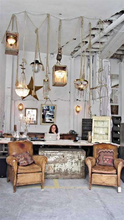 Lovely Vintage Interior Store  Home Decor  Store Design