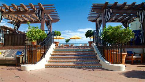 hotel terrace santa downtown santa barbara rooftop pool kimpton canary hotel