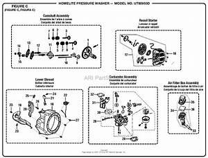Homelite Ut80522d Pressure Washer Parts Diagram For