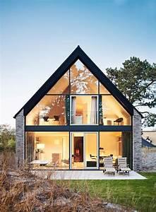 Modernes Haus Satteldach : fassadengestaltung einfamilienhaus modern satteldach ~ A.2002-acura-tl-radio.info Haus und Dekorationen