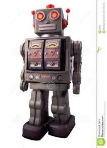 Old Toy Robot