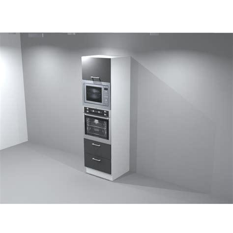 colonne de cuisine pour four encastrable meuble colonne frigo four