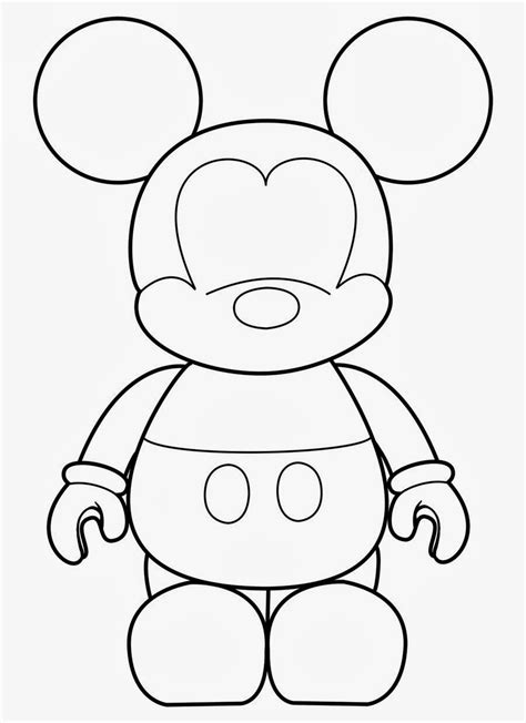 Mickey Mouse Template Mickey Template Oh My In