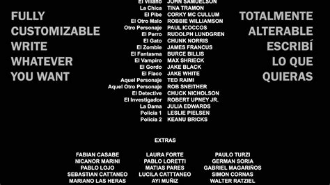 credits template dvd free vfx credits roll template cr 233 ditos after