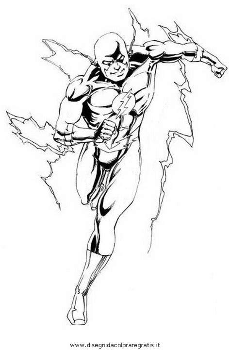 disegno flash personaggio cartone animato da colorare