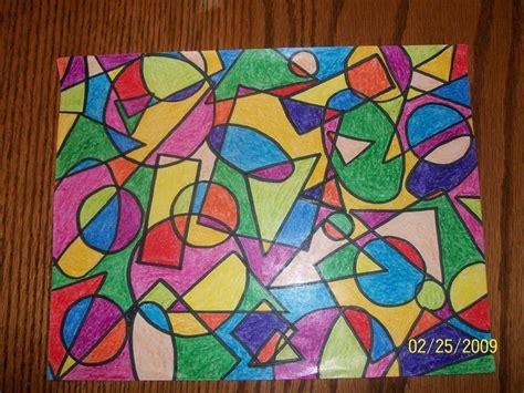 Geometric Art Art Projects Geometric Shapes Art