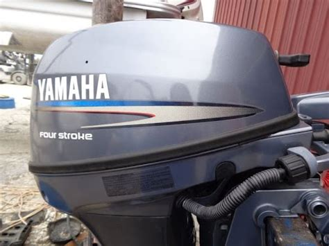 Boat Motor Cleaner by 6m4930 Used 2009 Yamaha F8cmlh 8hp 4 Stroke Outboard
