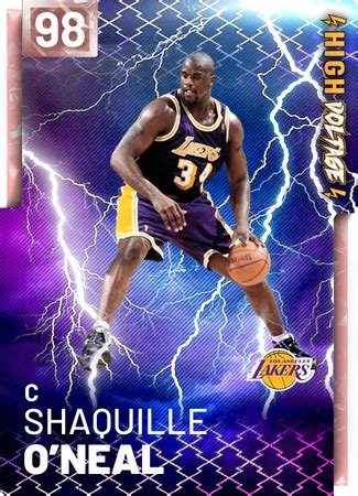 shaquille oneal nba  custom card kmtcentral