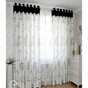 Curtains Ideas » Black Patterned Curtains - Inspiring