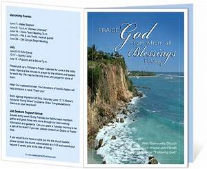 Church Bulletin Design Inspiration Church Bulletin Templates Praise Church Bulletin