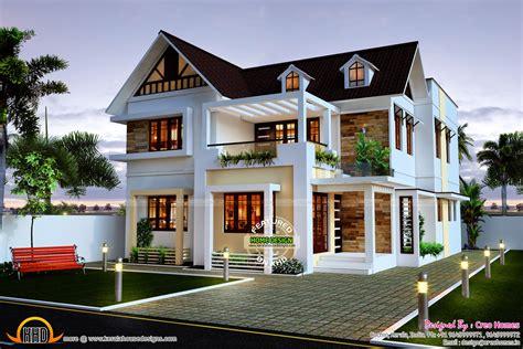 beautiful  bedroom home kerala home design