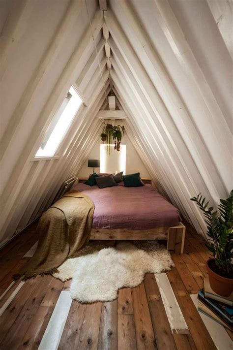 ideen fuer die moderne dachgeschosswohnung attic