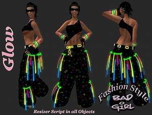Second Life Marketplace Bad Girl Fashion Style Star