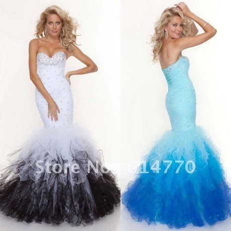 fishtail prom dresses