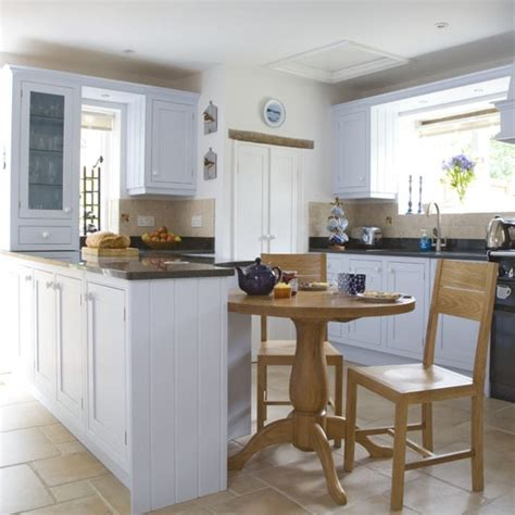 small kitchen diner ideas pale blue kitchen diner kitchen diner kitchen ideas image housetohome co uk