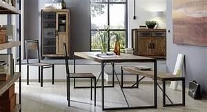 Esstisch Holz Metall Design : esstisch holz metall industrie loft design home design in 2019 house design chair und design ~ Buech-reservation.com Haus und Dekorationen